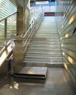 Plattformlift  :: Fahrbahnverlauf mit Zwischenpodesten